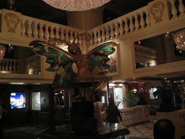 Hotel de la Montagne water nymph
